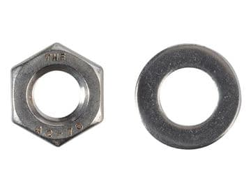 Hexagonal Nuts & Washers A2 Stainless Steel M10 ForgePack 8